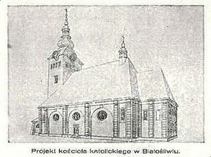 1925 Projekt Kościoła Białośliwie