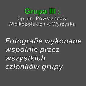 Grupa III fot. wspólne