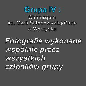 Grupa IV fot. wspólne