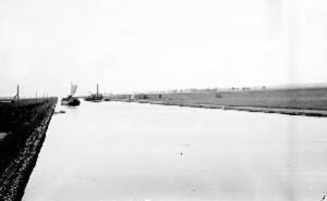 kanał bydgoski pod Ślesinem 1920r